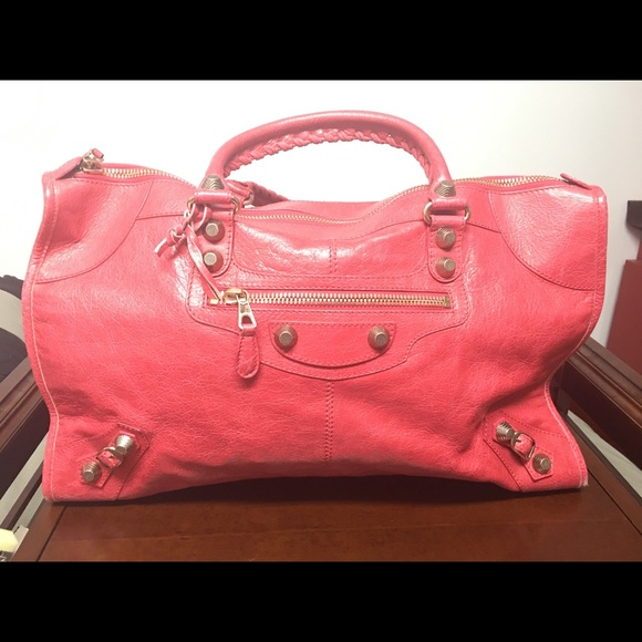 Balenciaga Giant Work Leather Handbag